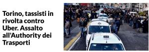 Repubblica - Protesta Taxi