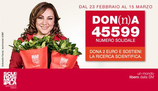 Antonella Ferrari per AISM
