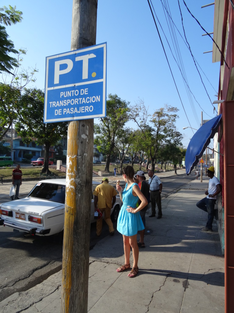 Carpooling Cuba Pickup Point